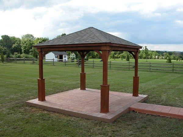 Sheds by taylor structures taylor pa servicing all of Gazebo roof pitch
