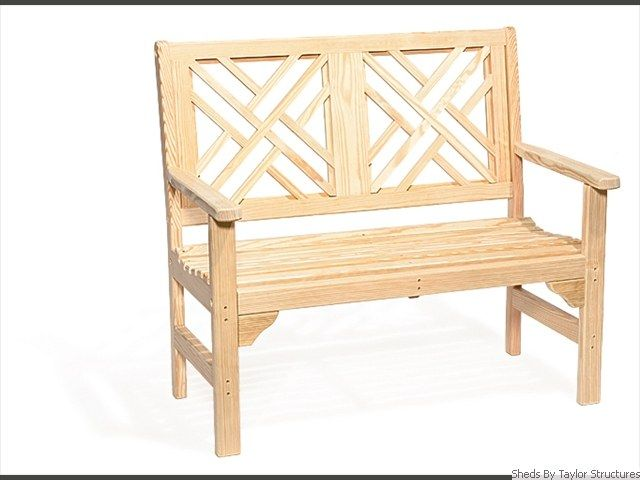 Chippendale-bench